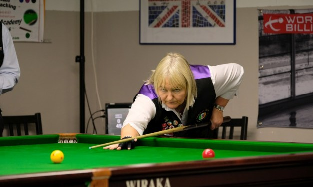 Annette Newman on Course to secure her National Number 1 Amateur Billiards Ranking for 2021