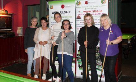 Home Rule Club Kilkenny Joins RILSA – Developing female cue sports