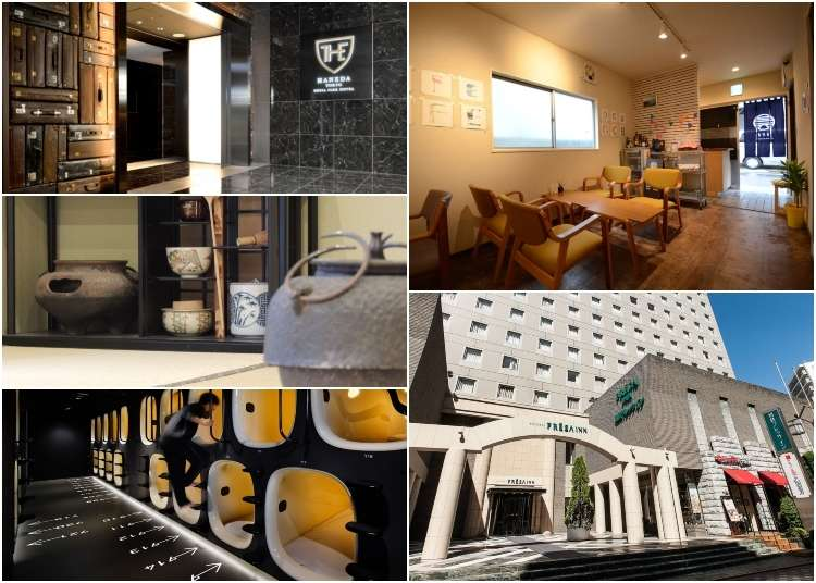 Accommodations For Every Budget 5 Hotels Close To Tokyo S