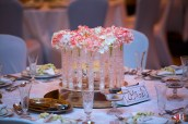 Dubai Wedding Flower Centerpiece
