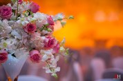 Dubai Wedding Flower Centerpieces