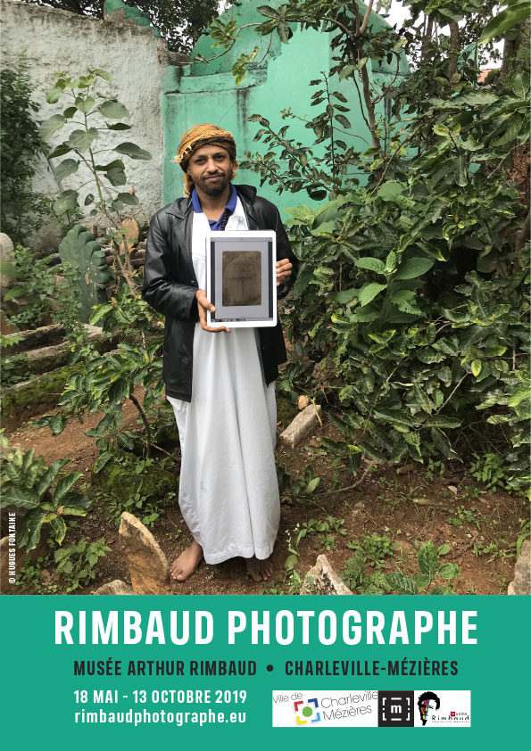 Affiche de l'exposition RIMBAUD PHOTOGRAPHE