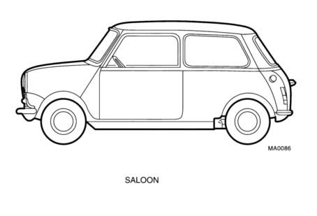 austin mini wiring diagram 1993 chevy pickup mg rover vehicle information identification serial number prefix code
