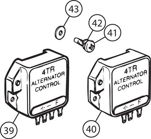 Triumph TR5-250 External Regulator for 15 AC Type