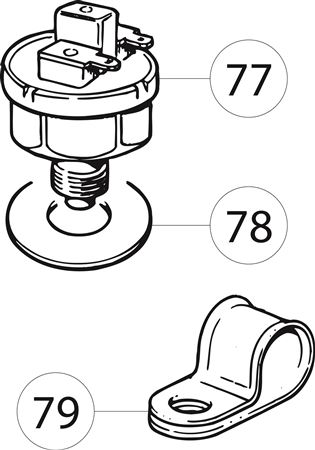 Triumph TR6 Reverse Light and Overdrive Inhibitor Switches