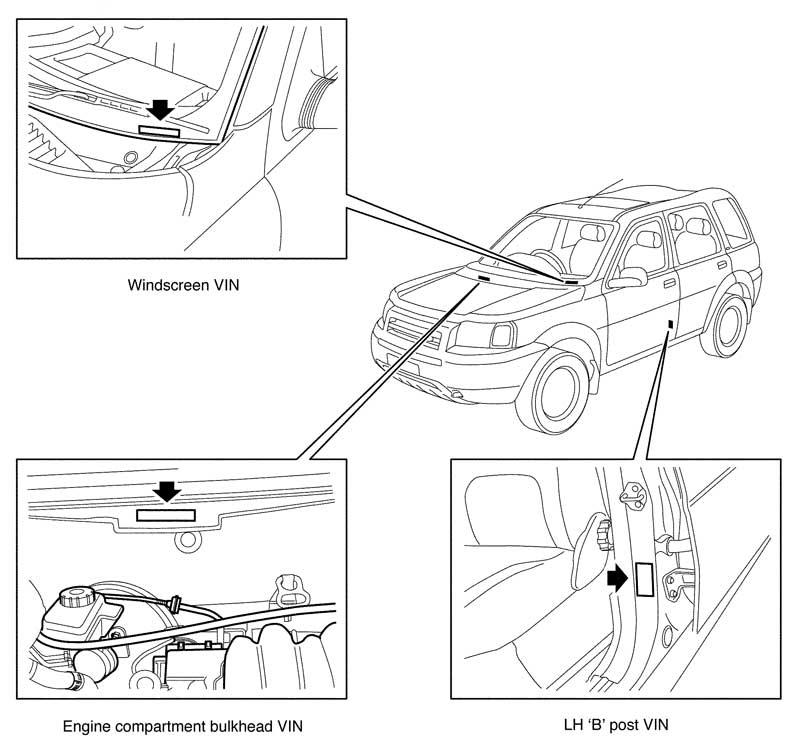 2002 Land Rover Freelander 2 5 Vacuum Diagram • Wiring