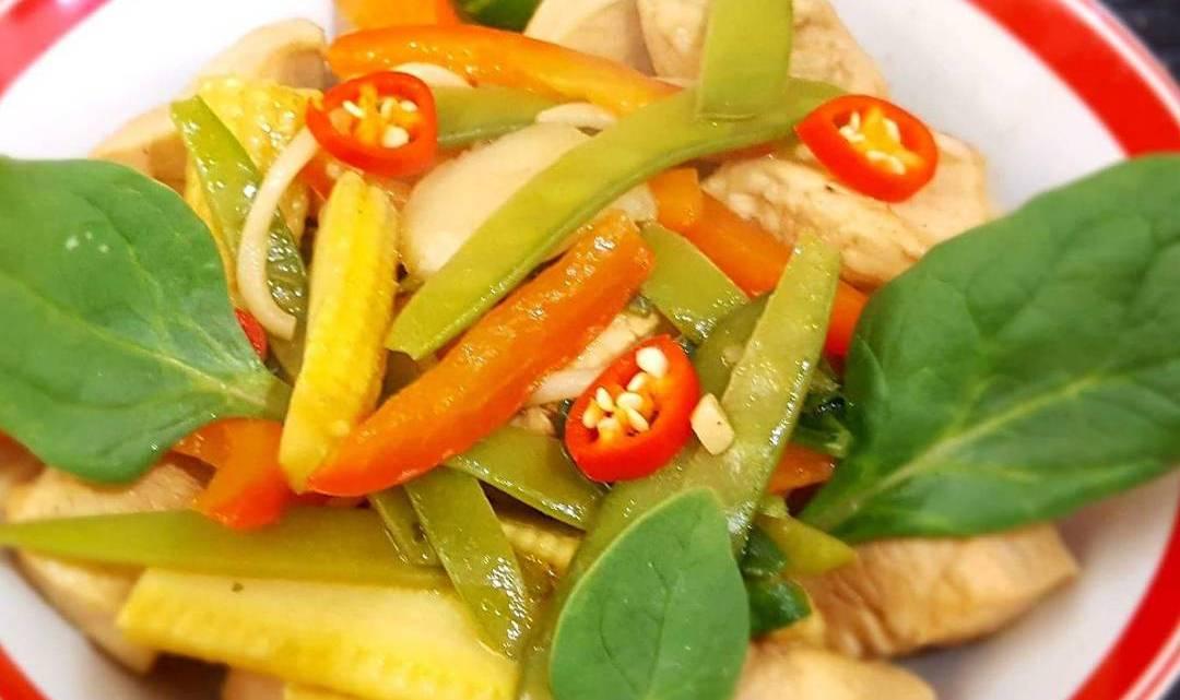 Spicy Asian Chicken Ramen