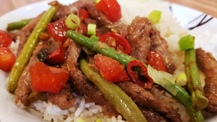 Vietnamese Lemongrass Beef