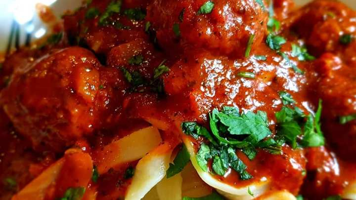 Lamb, Fennel and Anchovy Meatballs