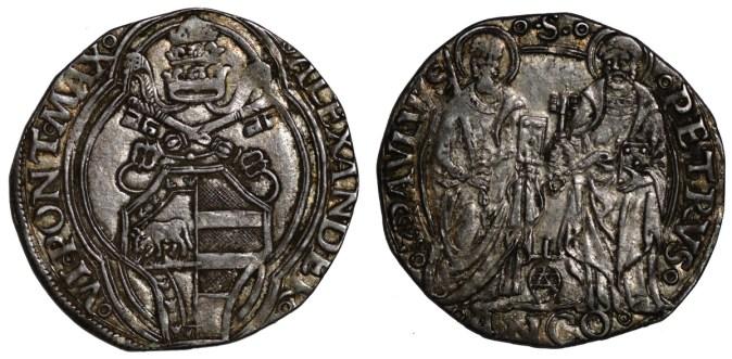 Ancona grosso Alessandro VI