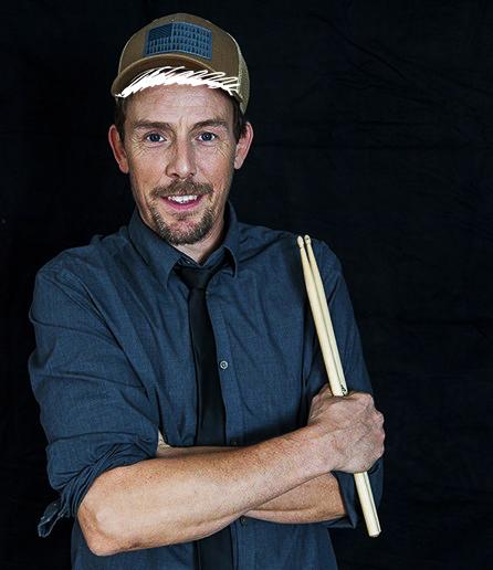 "Anders ""AP"" Pedersen, percussionist i RimRaketten"