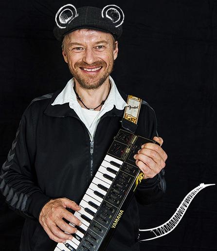 Thomas Thor, RimRakettens keyboard-spiller.