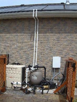 pool heater diagram gfci outlet with switch wiring solar heating