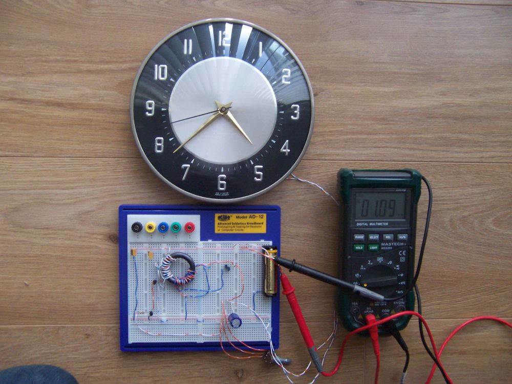 medium resolution of electric clock wiring diagram