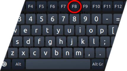 Premere F8 per riavviare il PC in modalità provvisoria