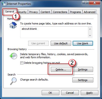 disattivare i cookie di Internet Explorer