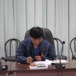 ประชุมคณะกรรมการสถาบันวิจัยศิลปะและวัฒนธรรมอีสาน ครั้งที่ 1/2560