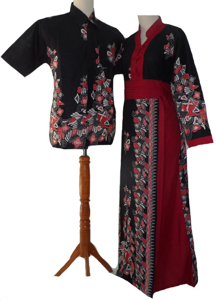 Model Gamis Batik Modern Terbaru 2013