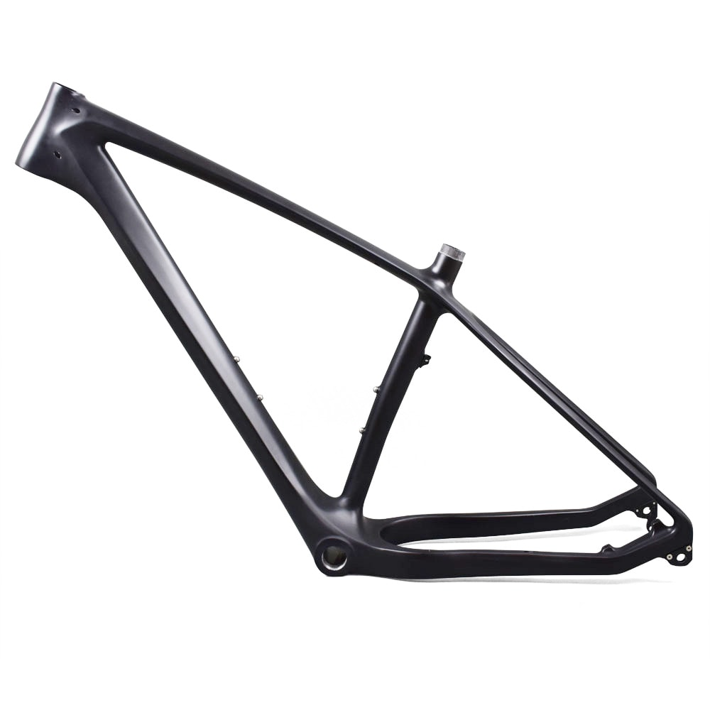 carbon fatbike frame downtube