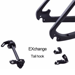 29er mtb hardtail frame quick release and thru axle exchange