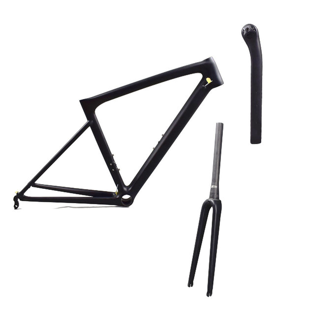 Rinasclta 2019 lightweight carbon road frame fork and seatpost