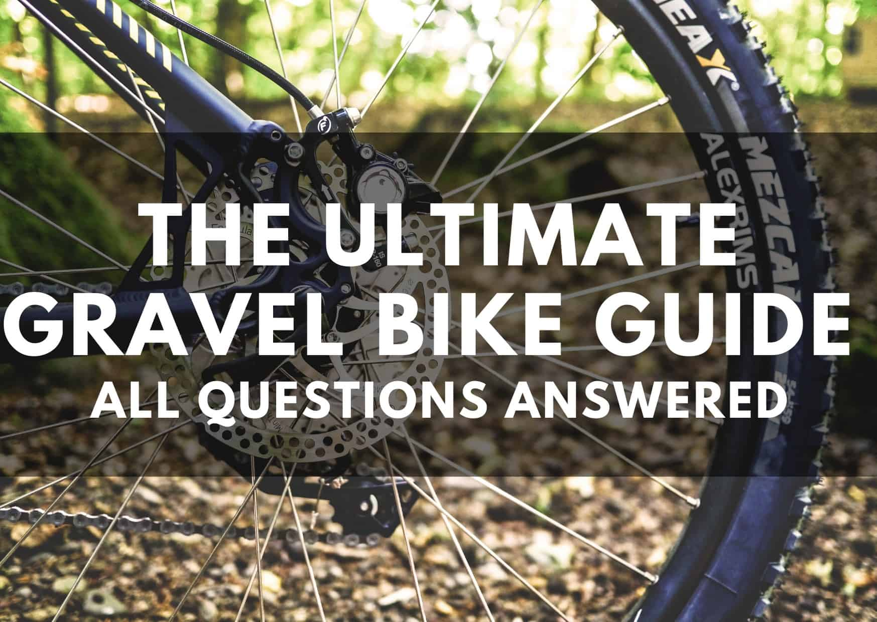 [2020 NEW] The Ultimate Gravel Bike Guide - All questions answered thumbnail