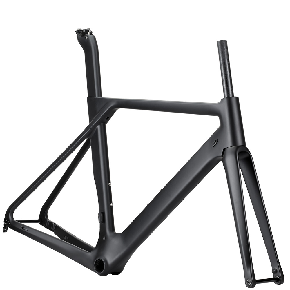 Rinasclta aero disc brake carbon road bike frame