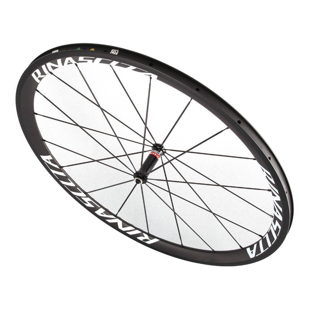 Rinasclta carbon fiber road bike wheelset customzied