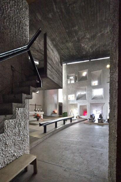 Capilla Notre Dame du Haut, obra de Le Corbusier (1954)