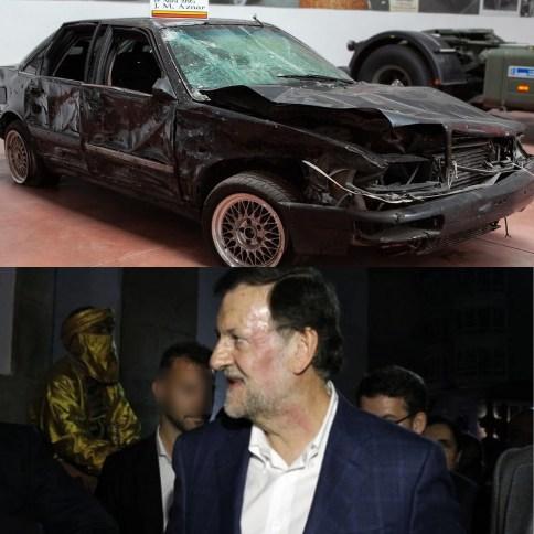 Atentado Aznar Rajoy