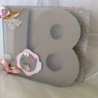 """Álbum """"18 años"""", regalo de cumpleaños"""