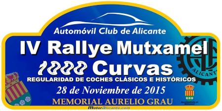 PLACA IV 1000 Curvas 2015