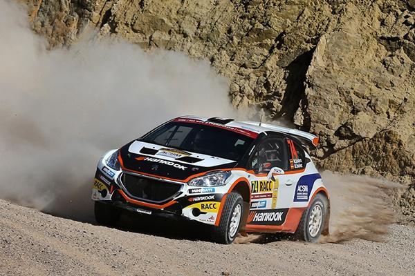 Nil SOlans Rallye de RACC Cataluña