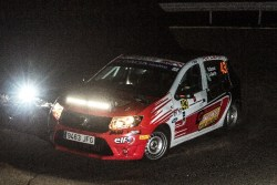 Javier Bouza, Sandero Rally Cup, Madrid