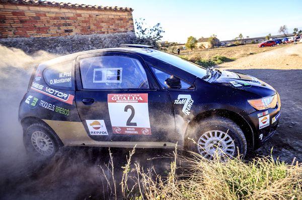 Miquel Prat Rallye El Font