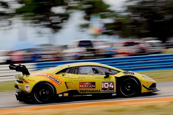 Tutumlu Lamborghini Super Trofeo