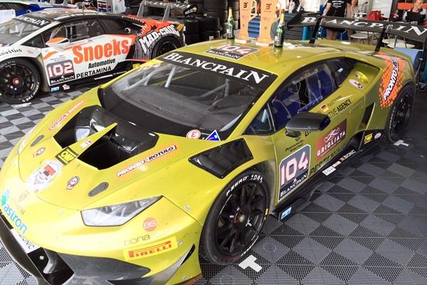 Tutumlu Lamborghini Super trofeo Sebring
