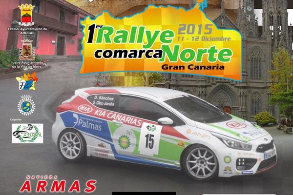 Cartel Rallye Comarca del Norte