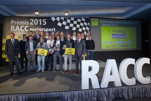 Entrega de premios RACC