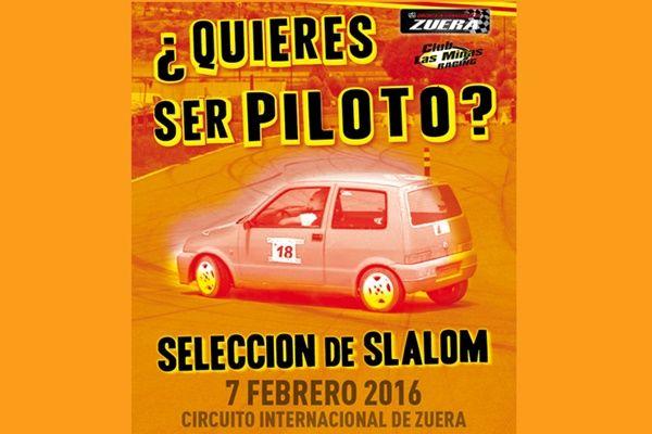 Cartel Selección Slalom Aragon