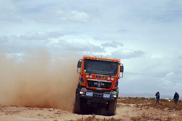 Dakar 2016 KH7 Juvanteny criado etapa 9