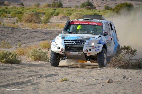 gracia-vallejo Mitsubishi Dakar 2016