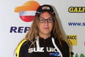 Andrea Lamas, copiloto