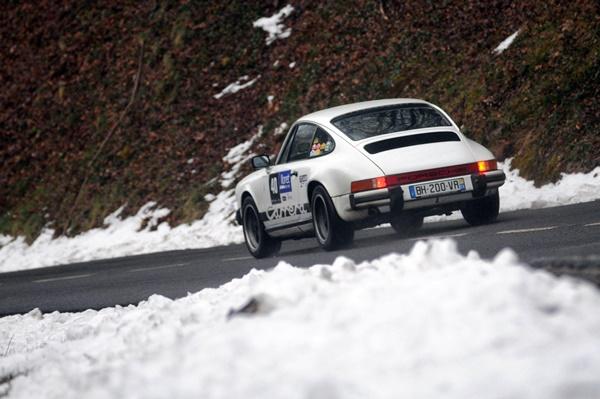 Baillet-Baillet Porsche 911 Carrera Rallye Costa Brava Hitoricos 2016