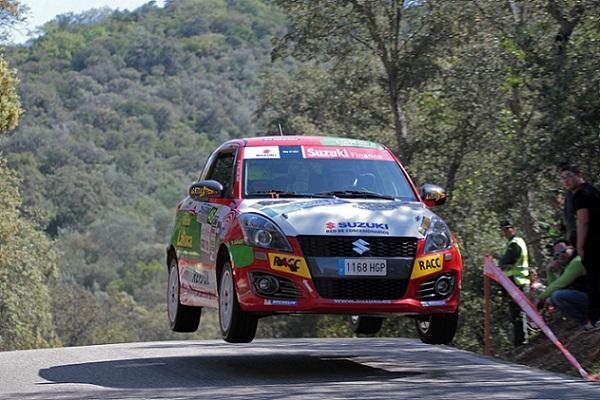 Alvaro Iglesias Rallye Sierra Morena 2016 Copa Suzuki Swift