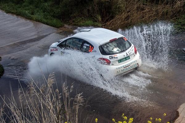 Peugeot Jimenez Paz Rallye Navarra 2016