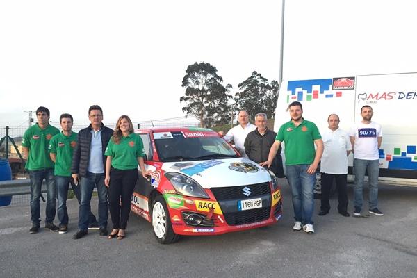 equipo alvaro iglesias suzuki swift copa 2016