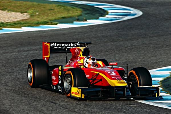 king gp2 racing engineering jerez test 2016