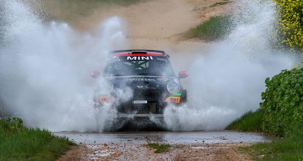 Mini nani roma rallye circuito navarra 2016