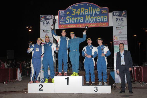 podio sandero cup sierra morena 2016